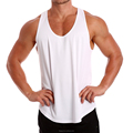 Men's New 100% Polyester RACERBACK Weight Training Singlet