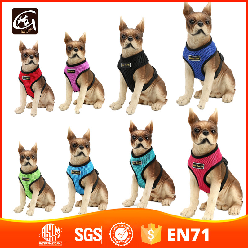 Comfort & Control Dog Harness 4-40 lbs; No Pull & No Choke Design, Luxurious Padded Vest, Eco-Friendly, For Puppies and Dogs