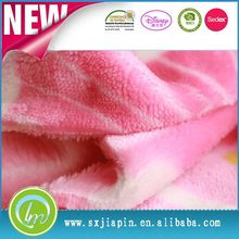 Fashionable hot sale polyester lycra fleece fabric