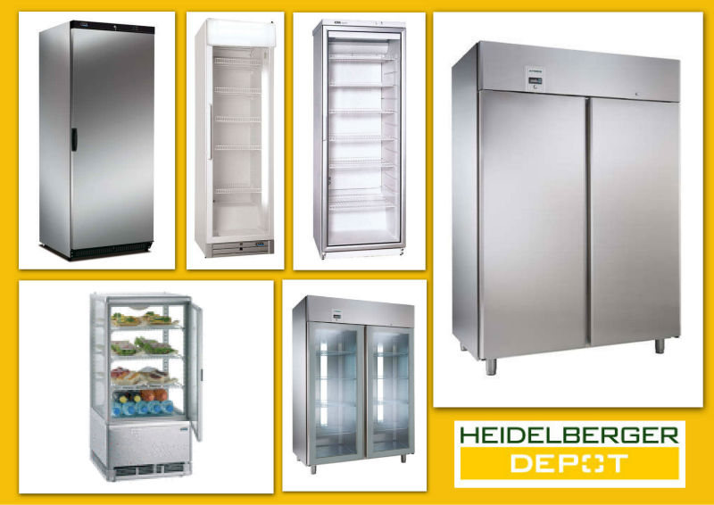 Variety of commercial refrigerators, freezers, secondhand and new