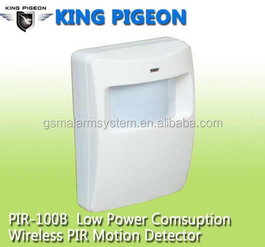 Advanced low power current RF and EMI Immunity Wireless PIR Motion Detector Alarm with intruders body move sensor
