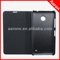 for Nokia X case Brushed metal Flip case- black