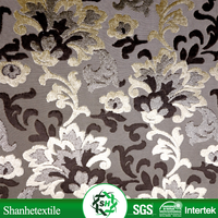 Best selling brocade meter Cheap jacquard brocade fabric