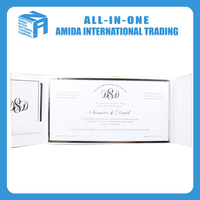low price high-end banquet invitation card