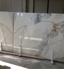 Calacatta Gold Marble and cultured marble slabs