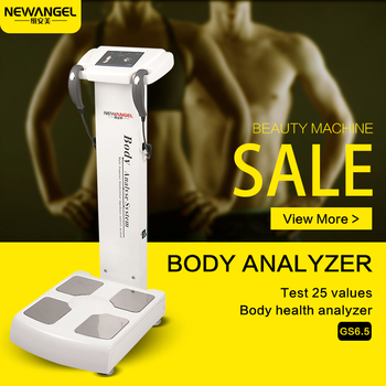 Best professional body composition BMI fat analyzer mini with printer