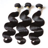 natural color brazilian body wave hair/Elegance Star body wave virgin brazilian hair extension