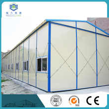 customized different color sandwich panel house designs and floor plans small prefab house
