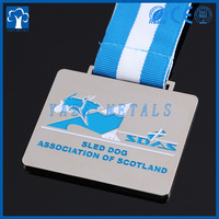 Sled dog association of scotland anniversary gold copper silver medals