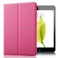 Genuine soft pu leather card wallet folio tablet for ipad mini case shock proof