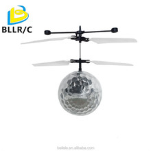 NEW! RC infrared Induction Helicopter rc flying Ball with LED Lighting for Kids&Teenagers Colorful Flying ball