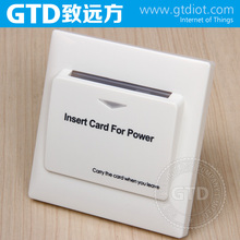 European standards Key Card Switch for Hotel with RFID Output/220V AC or 12V DC