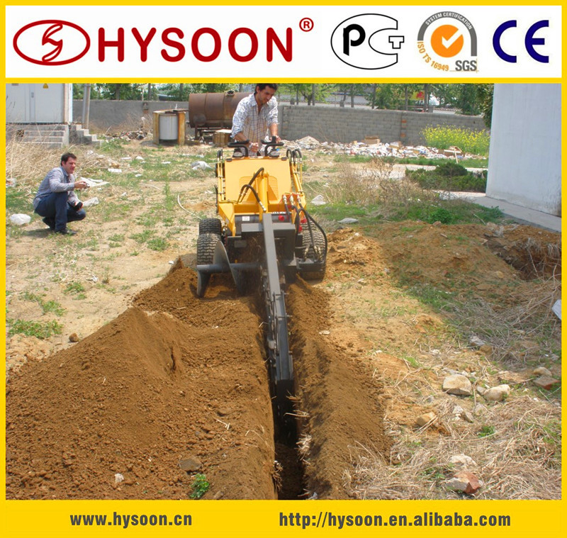 HY380 micro loader ,CE approved micro loader , Micro loader with digger fork ripper and so on