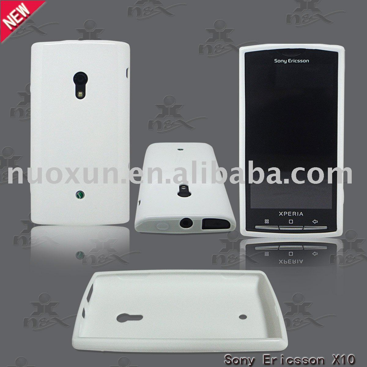 TPU soft skin case for Sony Ericsson X10