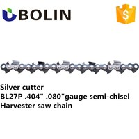 High Quality Bolin Brand Harvester Saw Chain 404 080 Harvester Chain