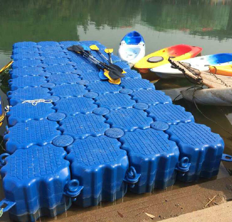 Factory Price Floating Dock Plastic Pontoon Cubes
