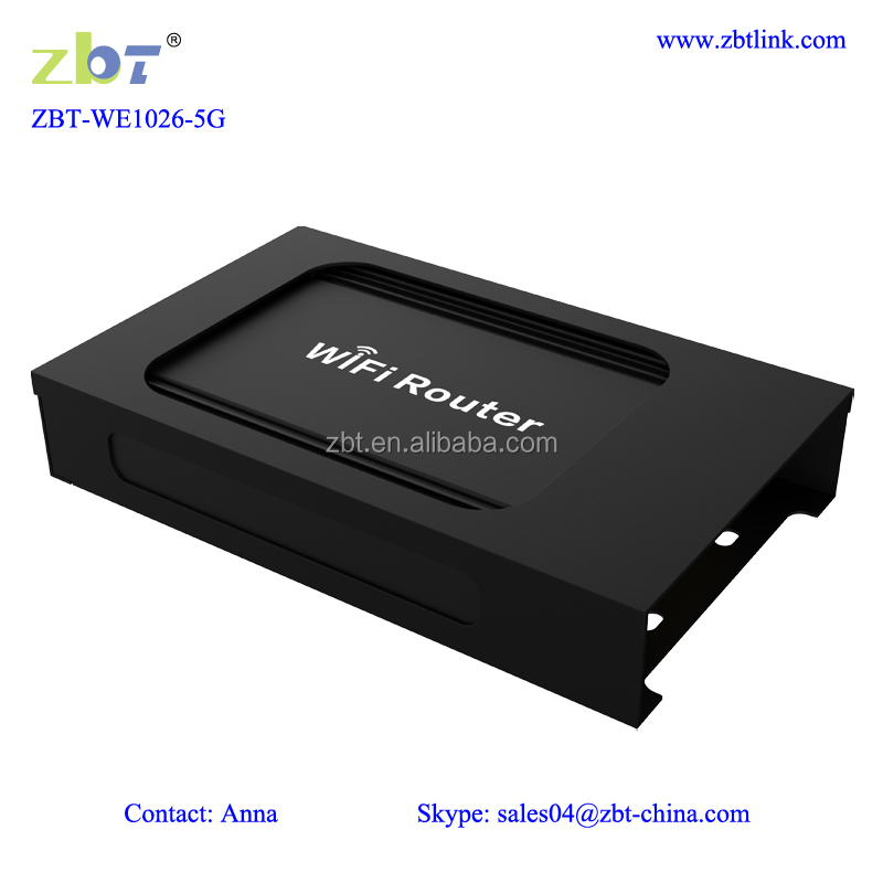 Industrial dual band 4g modem LTE bus router wifi sim card router ZBT WE1026-5G
