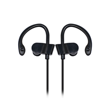 flat cable wire sports in-ear earphones with hook