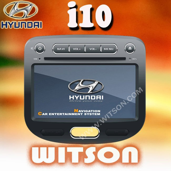 WITSON HYUNDAI i10 DOUBLE DIN CAR RADIO with touch screen