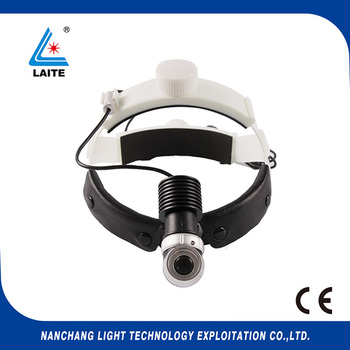 rechargeable surgical headlight 5w led medical headlamp with intensity and brightness control