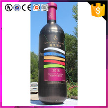 decoration advertising giant inflatable wine bottle model
