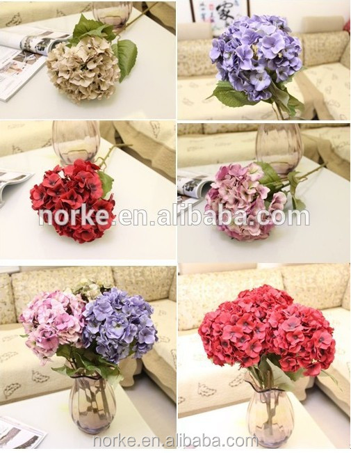 hydrangea flower cheap wholesale artificial flower