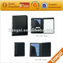 New design A5 leather padfolio