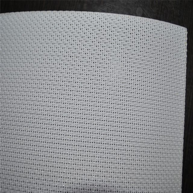 White Colour Paper Machine Polyester Forming Fabric/Filter Meshes Steel Clip Joining