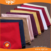 Wholesale High quality Hotel solid dyed satin drill napkin for restaurants