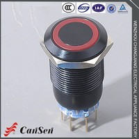 Hot selling good quality 12 volt waterproof push button switch