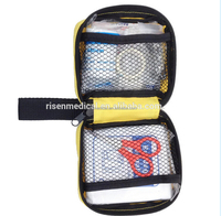 workshop mini travel car first aid kit, private label medical first aid kit