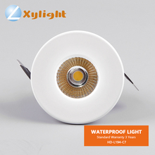 62Mm Cut Out Cob Best Low Voltage Profile Replace Vapor Water Proof LED Wet Rated Dome Surface Shower Enclosure Light