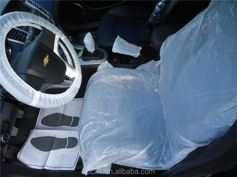 Plastic Seat Cover for auto refinish