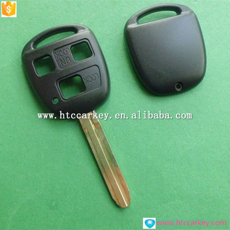 Blank car keys shell trade assrance for toyota key with toy 43 blade