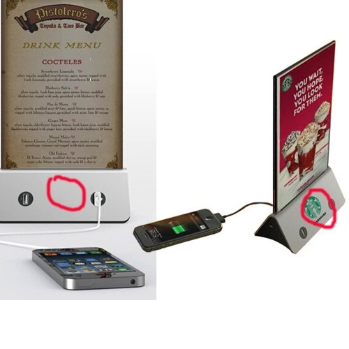 Restaurant Power Bank/charger/power Supply Menu China Factory And Manufacturer