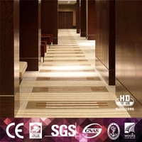 Various good quality modern design hotel corridor carpet