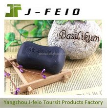 food grade hotel skincare bamboo charcoal soap