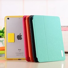 Hot selling colorful leather tablet case,for ipad mini 2 tablet cover accessories wholesale