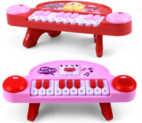 electrical plastic music keyboard instrument