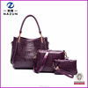 Wholesale New Products Korean Style Purse Ladies Handbag Fashion Leather Handbag Sets Bag 3 in 1