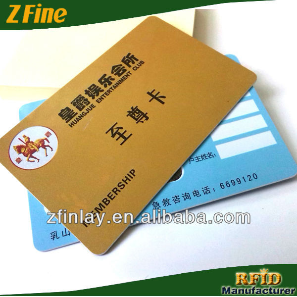plastic pvc id card pvc card signature panel for pvc cards