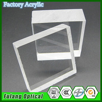 Clear 25mm high transparent acrylic sheet for fish tank