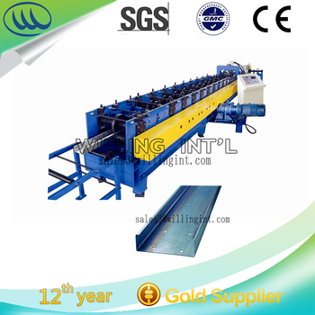 Customized C/Z/U shape purlin machine with high quality
