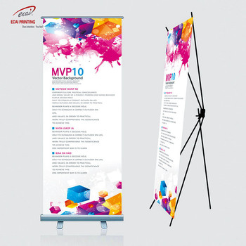 Portable X Banner Display , Advertising X Stand , Display X frame