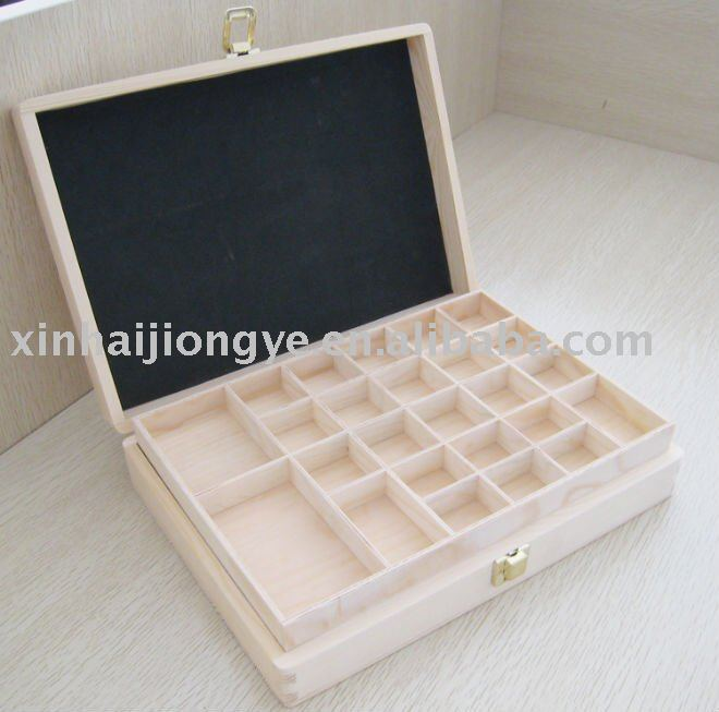 Morden wood box for essential oil