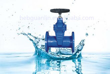 German Standard DIN 3352-F4/F5 Non-rising Stem Metal Seat Gate Valve for hdpe pipe China Supplier