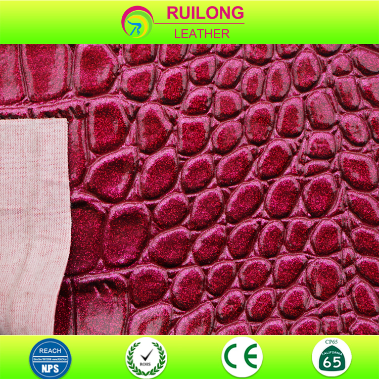 cheap wholesale pvc embossed sofa design decorated synthetic coated fabric leather