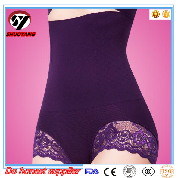 shuoyang best selling munafie high waist four steel bone women shapers slimming underwear pants