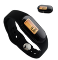 sports lcd water resistant 3D heart rate monitor accelerater pedometer sensor