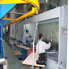 Liquid Painting Line For Metal/Plastic Wood Profile Surface Coating